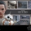 Hot Toys MMS337 STAR WARS: THE FORCE AWAKENS - REY AND BB-8 thumbnail 2