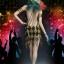 SUPER DUCK SET018-A Female clown sexy dress thumbnail 5