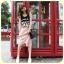 จองแล้วค่ะ เดรสสีชมพู สกรีนลายNYC น่ารักมากจ้า thumbnail 1