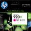 ตลับหมึกแท้ HP920XL ฺMagenta สีม่วงแดง ราคา 580 บาท thumbnail 1