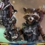 Hot Toys MMS411 GUARDIANS OF THE GALAXY VOL.2 - ROCKET (DELUXE VERSION) thumbnail 15