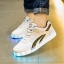 รองเท้ามีไฟ รองเท้า LED สีขาว มีแถบสีดำ2เส้น เปลี่ยนสีได้ 11 สี สินค้าพรีออเดอร์ thumbnail 4