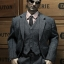 POPTOYS X22 1/6 Style Series - Men's striped Suit X3 colours thumbnail 30