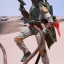 Hot Toys MMS313 STAR WARS: EPISODE VI RETURN OF THE JEDI - BOBA FETT (DELUXE VERSION) thumbnail 14