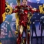 Hot Toys MMS462D22 IRON MAN 2 - MARK IV WITH SUIT-UP GANTRY thumbnail 1