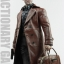 POPTOYS F16-B BROWN The Mafia style leather dress suit thumbnail 6