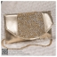 bs0019 กระเป๋าคลัช สีทอง กระเป๋าออกงานพร้อมส่ง ราคาถูกกว่าเช่า แบบสวยๆ ดูดีเหมือนดาราใช้ thumbnail 1