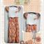 *SALE ลดราคาต่ำกว่าทุน* PP111 เดรสลายสีส้มน่ารักๆค่ะ กระโปรงอัดพลีท thumbnail 1