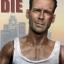 T-10 Bruce Willis Battle Damaged Head Sculpture (Never DIE) thumbnail 6