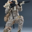 VERYCOOL VCF-2030 DIGITAL CAMOUFLAGE WOMEN SOLDIER - MAX thumbnail 12