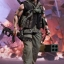 Hot Toy MMS276 COMMANDO - JOHN MATRIX thumbnail 4