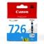 ตลับหมึกอิงค์เจ็ต ของแท้ Canon 726 C สีฟ้า thumbnail 1