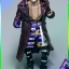 *order will been cancel* FIRE A011 / A012 Suicide Squad - Purple Coat Clown & Smile Face thumbnail 1