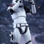 Hot Toys MMS335 STAR WARS: THE FORCE AWAKENS - FIRST ORDER STORMTROOPER OFFICER & STORMTROOPER SET thumbnail 4