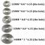 DG06 ชุดใบตัด HSS 5 ใบ แกน 3.2 มิล สำหรับงานไม้ อลูมิเนียม พลาสติก thumbnail 2
