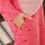 ชุดนอนแขนยาวสีโอรส ลายเด็กผู้หญิง thumbnail 3