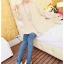 หมดค่ะ *SALE ลดราคาต่ำกว่าทุน* K908 กางเกงเลคกิ้งลายสีน้ำเงินสีเข้มกว่าแบบนิดจ้า thumbnail 1