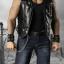 SuperMCTOYS F-073 Leather Sleeveless Moto Jacket Sets for Strongbody thumbnail 4