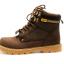 [มีหลายสี] รองเท้าหนัง CAT-CATERPILLAR รองเท้าเดินป่า หนังแท้ หุ้มข้อ พื้นยางนุ่มๆ สินค้างาน AAA+ thumbnail 3