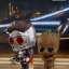 Hot Toys COSB361 GUARDIANS OF THE GALAXY VOL. 2 - STAR-LORD & GROOT thumbnail 3