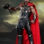 Hot Toys MMS225 THOR: THE DARK WORLD - THOR (LIGHT ASGARDIAN ARMOR VERSION) thumbnail 1
