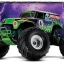 Grave Digger: 1/10 Scale Monster Jam Replica Monster Truck #3602A thumbnail 3