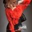 K501 *หมดค่ะ*เสื้อชีฟอง+ผ้ายืดcotton สีแดง สวยมากๆเลยจ้า ตัวเสื้อ thumbnail 1