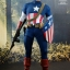 Hot Toys MMS205 CAPTAIN AMERICA: THE FIRST AVENGER - CAPTAIN AMERICA (STAR SPANGLED MAN VERSION) thumbnail 3