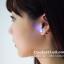 ต่างหูเรืองแสง ต่างหู LED มีไฟกระพริบ แบบเพชรเม็ดกลม thumbnail 15