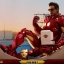 Hot Toys MMS462D22 IRON MAN 2 - MARK IV WITH SUIT-UP GANTRY thumbnail 15