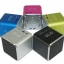 ขาย ลำโพงพกพาขนาดเล็ก คุณภาพเสียงดี เบสสนั่น มีแบตในตัว สามารถเล่นเพลงจาก Micro SD ได้โดยตรง ต่อผ่าน AUX in เพื่อฟังเพลงจากมือถือได้ 5สีสันสดใส thumbnail 1