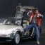 Hot Toys MMS260 BACK TO THE FUTURE: DELOREAN TIME MACHINE VEHICLE thumbnail 12