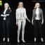 AFS TOYS A012 Women's slim suit thumbnail 1