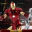 Hot Toys MMS462D22 IRON MAN 2 - MARK IV WITH SUIT-UP GANTRY thumbnail 23
