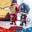 Hot Toys COSB323 CAPTAIN AMERICA(L), COSB324 IRON MAN MARK XLVI (L) thumbnail 6