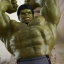 Hot Toys MMS287 AVENGERS: AGE OF ULTRON - HULK DELUXE SET thumbnail 15