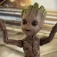 Hot Toys LMS004 GUARDIANS OF THE GALAXY VOL. 2 - GROOT (LIFE-SIZE) thumbnail 24