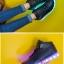 รองเท้ามีไฟ รองเท้า LED หุ้มข้อ สีดำ เปลี่ยนสีได้ 11 สี สินค้าพรีออเดอร์ thumbnail 2
