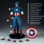 19/08/2018 Captain America Sixth Scale Figure by Sideshow Collectibles thumbnail 15
