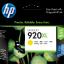ตลับหมึกอิงค์เจ็ต ของแท้ HP 920XL Yellow สีเหลือง ราคา 580 บาท thumbnail 1