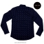 ME033 เสื้อเชิ้ตสีน้ำเงินลายสมอเรือ thumbnail 2