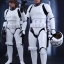 Hot Toys MMS418 STAR WARS: EPISODE IV A NEW HOPE - HAN SOLO (STORMTROOPER DISGUISE VERSION) thumbnail 3