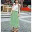 หมดค่ะ เดรสผ้าชีฟองสีเขียว+เข็มกลัดดอกไม้ สวยๆจ้า thumbnail 1