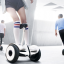 Mini Segway Self Balancing Scooter White thumbnail 6