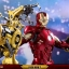 Hot Toys MMS462D22 IRON MAN 2 - MARK IV WITH SUIT-UP GANTRY thumbnail 7