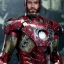 Hot Toys MMS196 THE AVENGERS - BATTLE DAMAGED MARK VII (MOVIE PROMO EDITION) thumbnail 8