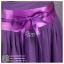 ld3035 ชุดราตรียาว สีม่วง คัตติ้งหัวใจ คาดโบว์น่ารัก ผ้าชีฟองพรีเมี่ยม สวย เรียบหรู thumbnail 6