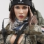 VERYCOOL VCF-2026 1/6 ACU Camo Female Shooter thumbnail 18