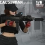 Fire Girl Toys FG010 Black Edition 1/6 Tactical Female Gunner Cool Set thumbnail 5