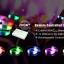 รีโมทคอนโทรลควบคุมการเปลี่ยนสีของกำไลข้อมือไฟกระพริบแบบควบคุมการเปลี่ยนสีด้วยรีโมทคอนโทรล thumbnail 3
